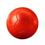 Κόκκινο ποδόσφαιρο Στοκ Φωτογραφία