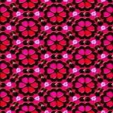 κόκκινο προτύπων λουλουδιών ελεύθερη απεικόνιση δικαιώματος