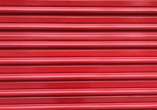 Κόκκινο πτυχωμένο υπόβαθρο πορτών Στοκ φωτογραφίες με δικαίωμα ελεύθερης χρήσης