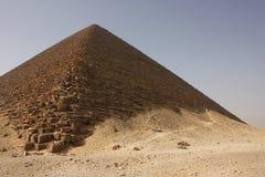 κόκκινο πυραμίδων Στοκ Εικόνα