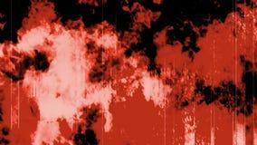 Κόκκινο πυρκαγιάς Grunge απόθεμα βίντεο