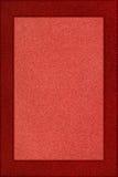 κόκκινο πλαισίων κατασκευασμένο Στοκ εικόνες με δικαίωμα ελεύθερης χρήσης