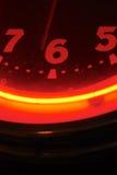 κόκκινο ρολογιών Στοκ Εικόνες