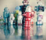 κόκκινο ρομπότ Στοκ φωτογραφίες με δικαίωμα ελεύθερης χρήσης