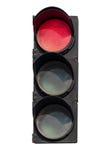 Κόκκινο σήμα του φωτεινού σηματοδότη Στοκ Φωτογραφίες