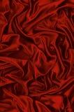 κόκκινο σατέν ανασκόπησης Στοκ Εικόνα