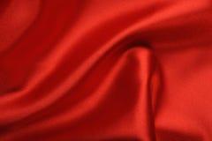 κόκκινο σατέν ανασκόπησης στοκ εικόνες με δικαίωμα ελεύθερης χρήσης