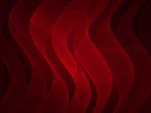 κόκκινο σατέν Στοκ Εικόνες