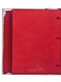 κόκκινο σελίδων Στοκ φωτογραφία με δικαίωμα ελεύθερης χρήσης