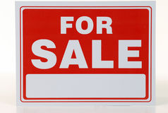 Κόκκινο σημάδι πώλησης Στοκ εικόνα με δικαίωμα ελεύθερης χρήσης
