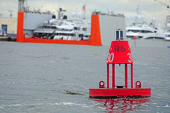 κόκκινο σημαντήρων Στοκ εικόνα με δικαίωμα ελεύθερης χρήσης