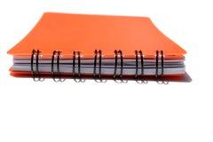 κόκκινο σημειωματάριων στοκ φωτογραφία με δικαίωμα ελεύθερης χρήσης