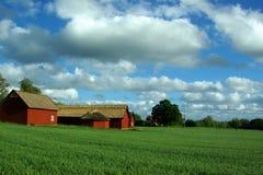 κόκκινο σιταποθηκών Στοκ φωτογραφία με δικαίωμα ελεύθερης χρήσης
