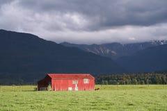 κόκκινο σιταποθηκών Στοκ εικόνες με δικαίωμα ελεύθερης χρήσης