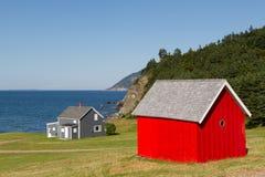 κόκκινο σιταποθηκών Στοκ φωτογραφίες με δικαίωμα ελεύθερης χρήσης