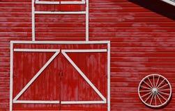 κόκκινο σιταποθηκών Στοκ Φωτογραφία