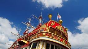 κόκκινο σκάφος Στοκ Εικόνα