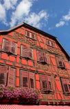 Κόκκινο σπίτι Στοκ φωτογραφία με δικαίωμα ελεύθερης χρήσης