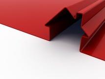 κόκκινο σπιτιών Στοκ εικόνα με δικαίωμα ελεύθερης χρήσης