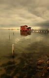 κόκκινο σπιτιών Στοκ φωτογραφία με δικαίωμα ελεύθερης χρήσης