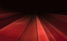 Κόκκινο στάδιο κουρτινών Έννοια εικόνας θεάτρων Στοκ Εικόνες