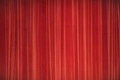 Κόκκινο στάδιο κουρτινών Έννοια εικόνας θεάτρων Στοκ φωτογραφίες με δικαίωμα ελεύθερης χρήσης