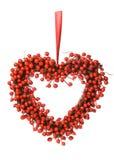 κόκκινο στεφάνι μούρων Στοκ εικόνα με δικαίωμα ελεύθερης χρήσης