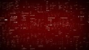 Κόκκινο στοιχείων μικροϋπολογιστών διανυσματική απεικόνιση