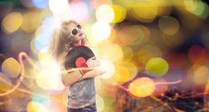 κόκκινο συμβαλλόμενων μερών κοριτσιών disco Στοκ φωτογραφίες με δικαίωμα ελεύθερης χρήσης