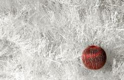 κόκκινο σφαιρών Στοκ εικόνα με δικαίωμα ελεύθερης χρήσης