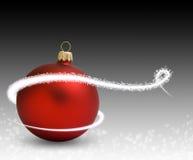 κόκκινο σφαιρών christmass Στοκ φωτογραφία με δικαίωμα ελεύθερης χρήσης