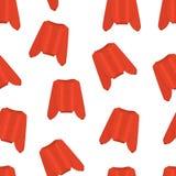 Κόκκινο σχέδιο πουλόβερ Πλεκτά κόκκινα πουλόβερ στο λευκό διάνυσμα Στοκ φωτογραφία με δικαίωμα ελεύθερης χρήσης