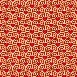 Κόκκινο σχέδιο Στοκ Εικόνες
