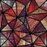 Κόκκινο σχέδιο boho Στοκ φωτογραφία με δικαίωμα ελεύθερης χρήσης