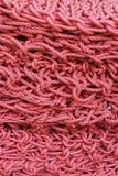 Κόκκινο σχοινιών στοκ εικόνες