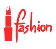 Κόκκινο σύμβολο μόδας Στοκ φωτογραφίες με δικαίωμα ελεύθερης χρήσης