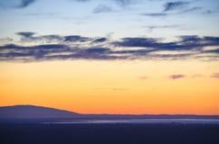 Κόκκινο σύννεφο Στοκ εικόνα με δικαίωμα ελεύθερης χρήσης