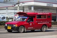 Κόκκινο ταξί Chiang Mai Υπηρεσία στην πόλη και γύρω Στοκ εικόνες με δικαίωμα ελεύθερης χρήσης