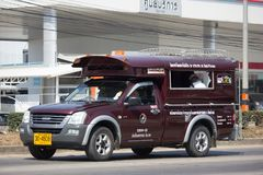 Κόκκινο ταξί Chiang Mai Υπηρεσία στην πόλη και γύρω Στοκ Φωτογραφία