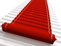 κόκκινο ταπήτων διανυσματική απεικόνιση