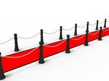 κόκκινο ταπήτων Στοκ φωτογραφία με δικαίωμα ελεύθερης χρήσης