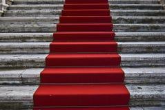 κόκκινο ταπήτων Στοκ Εικόνες
