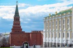 Κόκκινο τετράγωνο Μόσχα Κρεμλίνο Στοκ φωτογραφίες με δικαίωμα ελεύθερης χρήσης