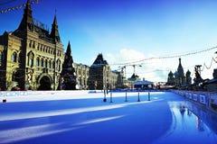 κόκκινο τετράγωνο Στοκ φωτογραφία με δικαίωμα ελεύθερης χρήσης