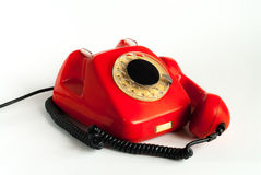 Κόκκινο τηλέφωνο Στοκ Εικόνες