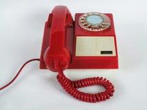 Κόκκινο τηλέφωνο Στοκ εικόνες με δικαίωμα ελεύθερης χρήσης