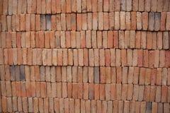 Κόκκινο τούβλο αργίλου Στοκ Εικόνες