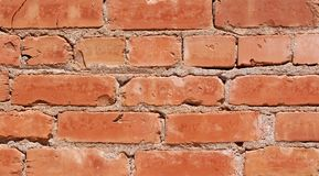 κόκκινο τούβλων Στοκ φωτογραφίες με δικαίωμα ελεύθερης χρήσης