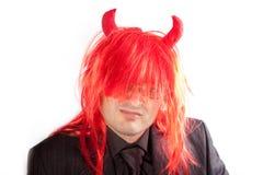 κόκκινο τριχώματος κοστ&om Στοκ εικόνα με δικαίωμα ελεύθερης χρήσης