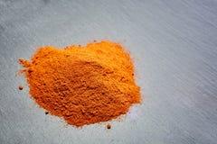 Κόκκινο τσίλι - καυτό πιπέρι, έννοια του δημοφιλούς καρυκεύματος Στοκ εικόνα με δικαίωμα ελεύθερης χρήσης
